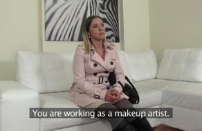 imagen Madura en un casting porno por primera vez