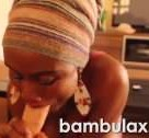 imagen Africana se traga una polla entera