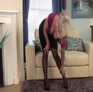 imagen Rubia aburrida se masturba