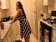 imagen Follando en la cocina, vídeo casero