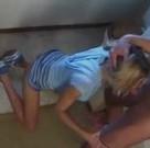 imagen Zorrita rubia follada por su padrastro