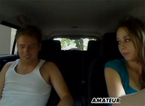 porno en el coche