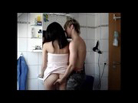 imagen Follada en el baño, vídeo amateur
