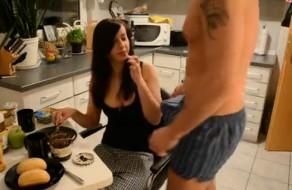 imagen Follada en la cocina por su novio