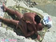imagen Polvazo en la playa