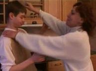 imagen Milf y su hijo follando en la cocina