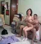 imagen Pareja latina en escena de sexo casero