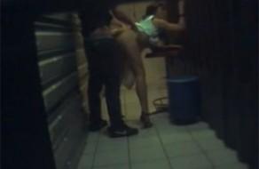 imagen Follada por el jefe en la tras tienda (cámara oculta)