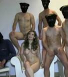 imagen Gangbang español, follada por cinco tíos