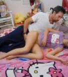 imagen Joven de Hello kitty follada por su padre