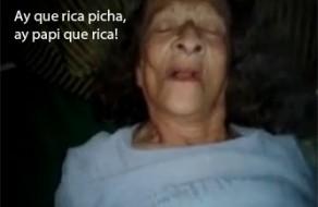 imagen Vieja cachonda follada por su nieto, su deseo antes de morir – Incesto español