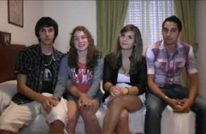 imagen Intercambio de parejas entre jóvenes españoles