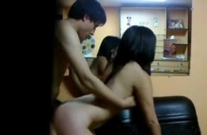 imagen Chibola cogiendo con el novio en una optica