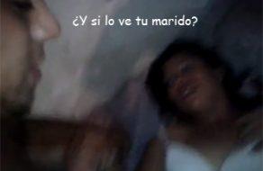 imagen Putita mexicana le pone los cuernos a su marido
