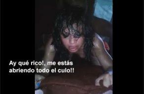 imagen Puta mexicana grita de placer mientras la culean