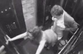 imagen Grabación real follando en el ascensor
