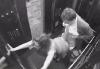 Camara oculta en un ascensor - conejoxcom