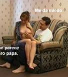 imagen Papi vicioso convence a su hija para coger – Idioma español
