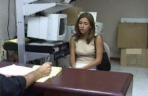 Imagem colombiana estuprada em uma entrevista de trabalho - real