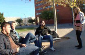 imagen Española quiere follar con universitarios
