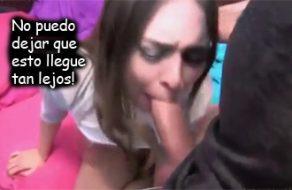 imagen Hermano chantajea a la puta de su hermana (sub español)
