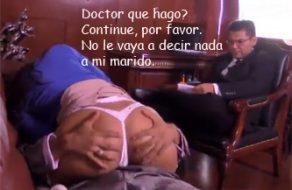 imagen Secretaria cogida por un paciente mexicano