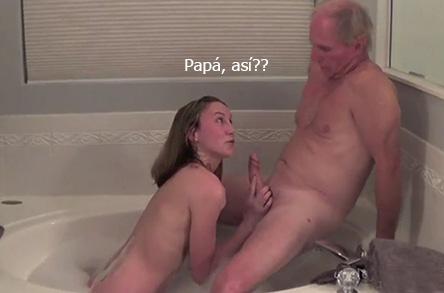 Nieta tiene sexo con su abuelo - 2 part 8