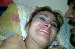 imagen Mexicana con la cuquita peluda y jugosita