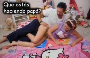 imagen Padre vicioso y violador visita a su hija antes de dormir