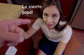 imagen Padre educa a su hija para que sea una colegiala muy puta