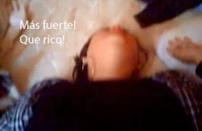imagen Peruana pide que le rompan mas fuerte su culo de puta