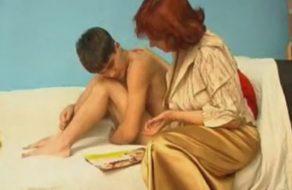 imagen Madre muy cochina abusa sexualmente de su hijo