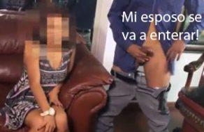 imagen Mexicanita infiel rueda porno con un antifaz