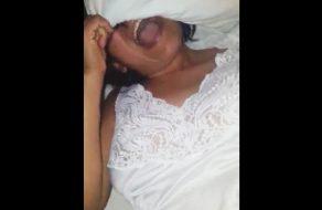 imagen Mexicana infiel pillada, cacheteada y violada por su esposo