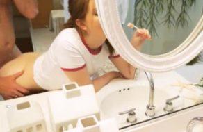 imagen Cogiendo a su hija mientras se prepara para ir a la universidad