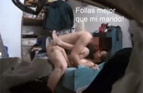 imagen Cámara oculta graba a una mexicana siendo infiel a su marido
