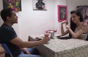 imagen Guarra española quiere sexo como postre de la cena