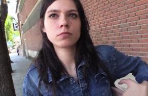 imagen Morenaza española pillada en la calle tiene sexo por dinero