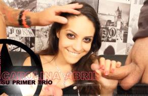 imagen El primer trío de Carolina Abril (porno español)