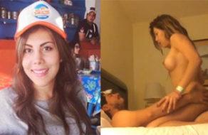 imagen Vídeos íntimos robados a una mexicana puta y engreída