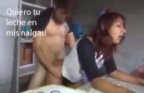 imagen Putita mexicana folla duro y le pide que se corra en su culo