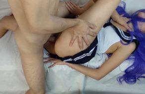 imagen Nos enseña su culito antes de meterle la verga hasta el fondo