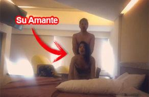 imagen Cámara oculta graba a una pareja de amantes cogiendo en el hotel
