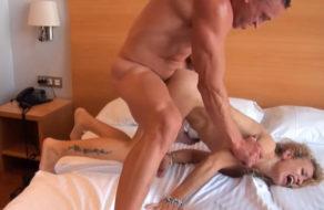 imagen Follando con rabia a la puta de su ex mujer (español)